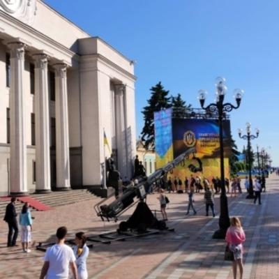 В Киеве заканчиваются последние приготовления к инаугурации (фото)