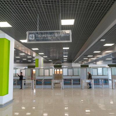 В аэропорту «Киев» открыли новый терминал