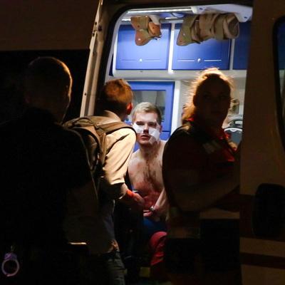 На Майдане произошла драка с поножовщиной