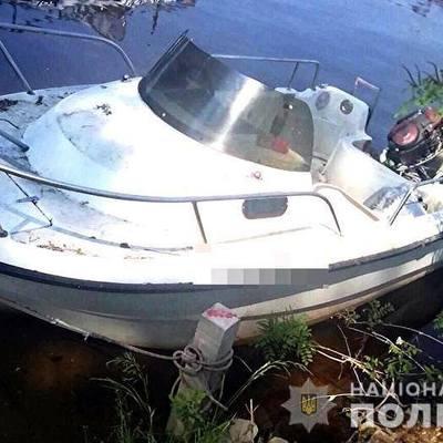 В Киеве компания угнала катер, чтобы покататься