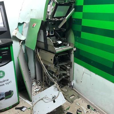 В Киеве злоумышленники взорвали банкомат