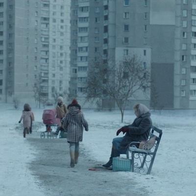Зимнюю сцену для сериала