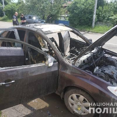 На Киевщине взорвался автомобиль, в котором находился ребенок