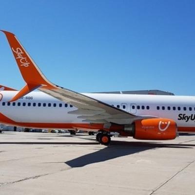 Авиакомпания SkyUp получила восьмой самолет