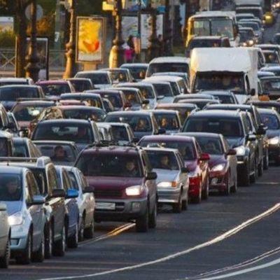 Киев занял 13-е место в мире по «пробкам» на дорогах