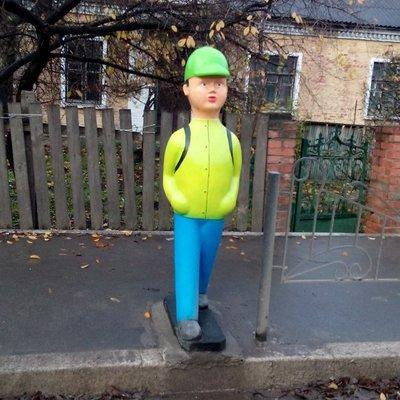 В Киеве установят муляжи школьников на дорогах