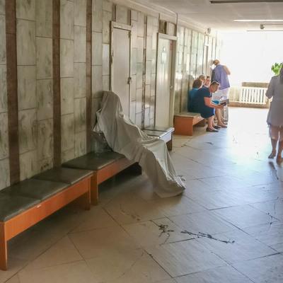 В Киеве женщина умерла в очереди к врачу