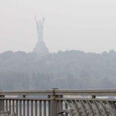 Уровень загрязнения воздуха в Киеве превысил норму в шесть раз