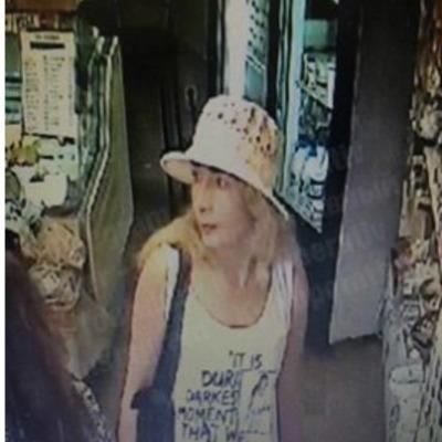 В Киеве воровка украла телефон из детской коляски (видео)