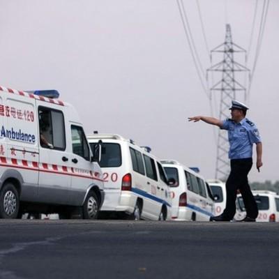 В Китае обрушился карьер, три человека погибли