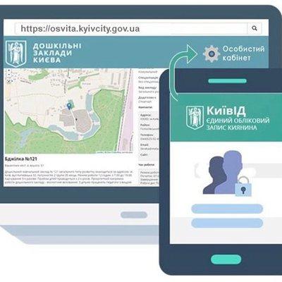 Киевляне могут узнать о загруженности детских садов в онлайн-режиме