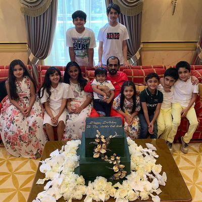 Брошенный шейх Дубая отпраздновал 70-летие в Лондоне