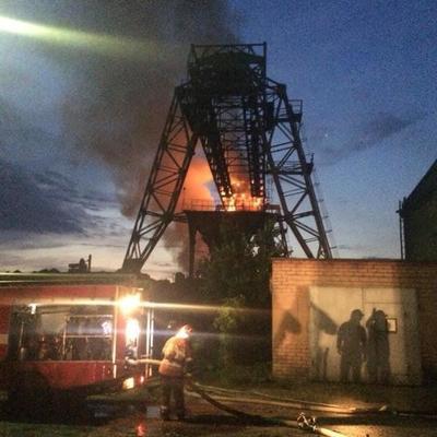 На территории киевской ТЭЦ произошел пожар (фото)