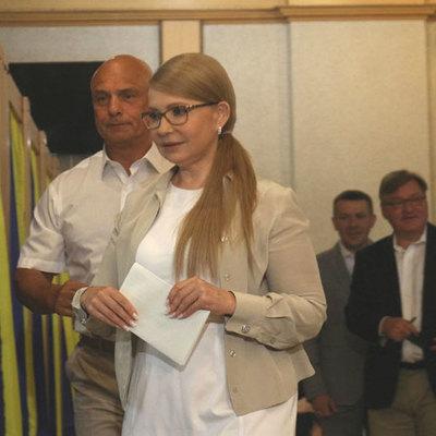 Юлия Тимошенко: Мой бюллетень - за жизнь