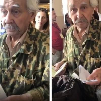 В Киеве избиратель проголосовал по паспорту жены