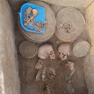 В Казахстане нашли могилу древних Ромео и Джульетты