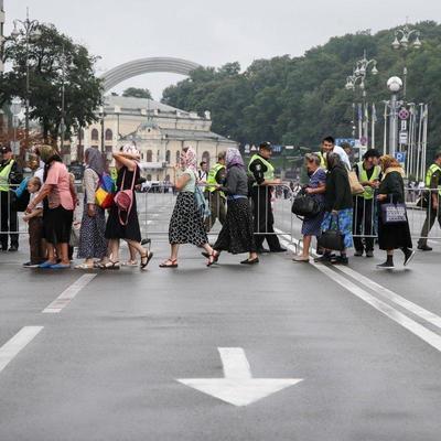 Сегодня в центре Киева общественный транспорт изменит маршрут (схема)