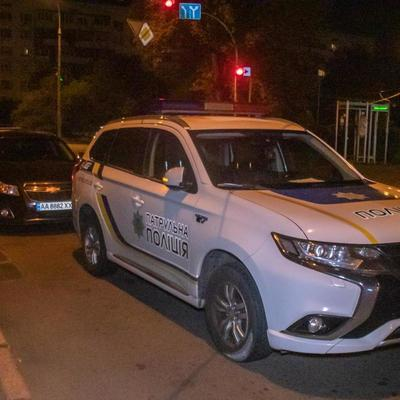 В Киеве пьяный прокурор ездил за рулем и скрылся от полиции в кустах (видео)