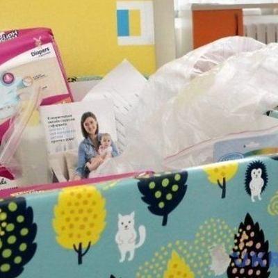 В Тетиеве на Киевщине выдают дополнительные пакеты для новорожденных
