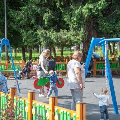 В столице открыли обновленный парк отдыха «Радуга»
