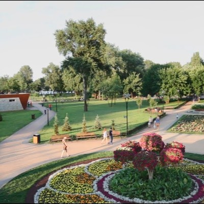 На Оболони завершается реконструкция третьей очереди парка
