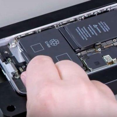 Apple начала блокировать iPhone при замене аккумулятора