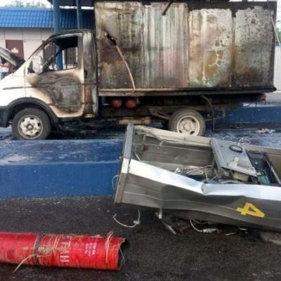 В Запорожье произошел взрыв на АЗС, есть пострадавший (фото)