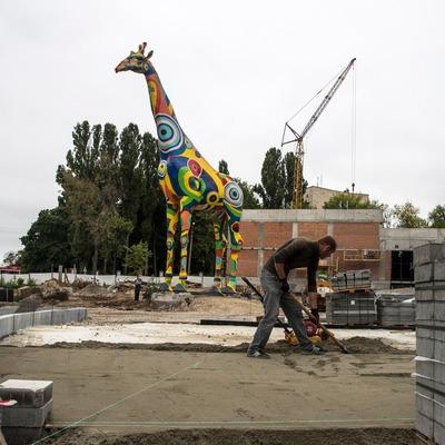 Как обновляется столичный зоопарк (видео)