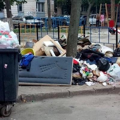 Виноградарь утопает в мусоре