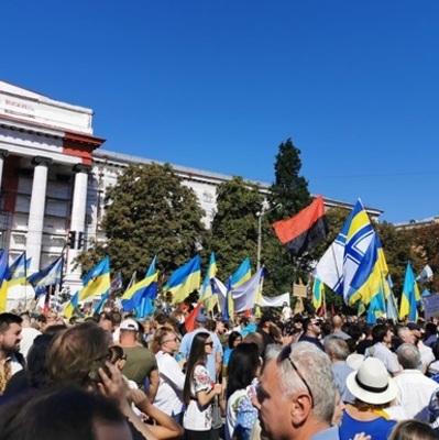 В Киеве во время торжеств по случаю Дня независимости пострадал мужчина