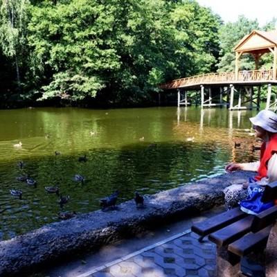 После капитального ремонта открылся парк «Пуща Водица» (фото)