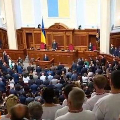 Депутаты Верховной Рады Украины IX созыва приняли присягу