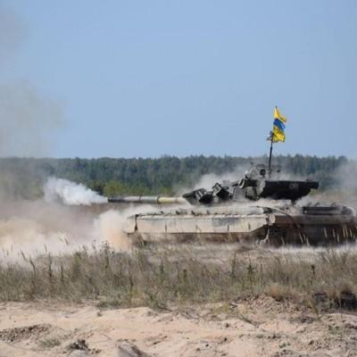 Эстафета и снайперская стрельба: как в Украине соревнуются танкисты