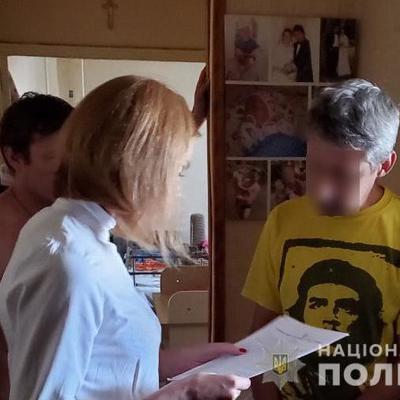 В Киевской области мужчина изготавливал и продавал порно с собственными детьми