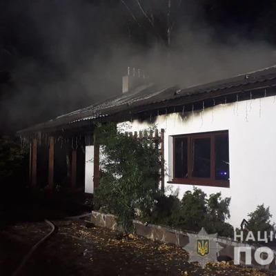 В полиции прокомментировали поджог дома Гонтаревой