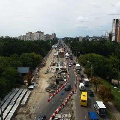 В Киеве возобновляется движение на Борщаговском путепроводе