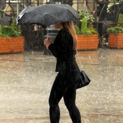 В воскресенье в Киеве ухудшится погода, ожидается І уровень опасности