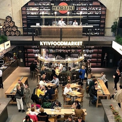 В столице открылся Kyiv Food Market