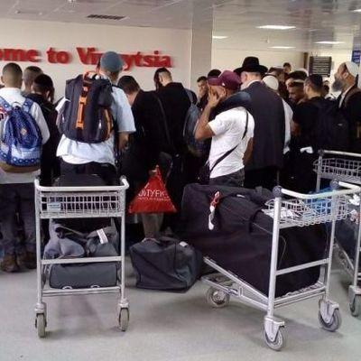 В Украину прибыли уже почти 25 тыс. паломников