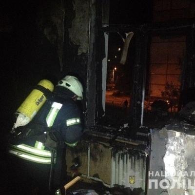 В Киеве подожгли детский сад