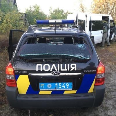 Утром под Киевом преступник открыл огонь по полицейским, есть раненые