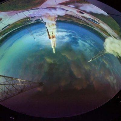 В заводской трубе открыли планетарий (фото)