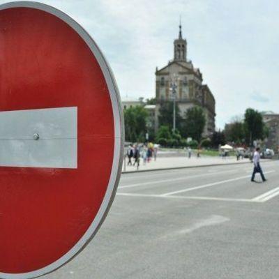 В Киеве сегодня перекроют десятки улиц из-за марафона