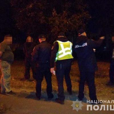 Стрельба в столице: полиция задержала группу вооруженных киевлян (фото)