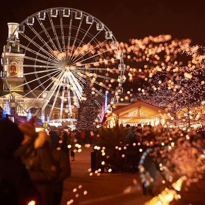 В этом году новогодние локации будут организованы на Софийской и Контрактовой площадях