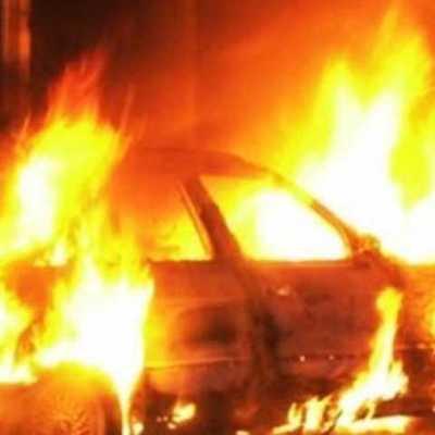 За сутки в столице горело 4 автомобиля