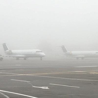 Из-за тумана в киевских аэропортах задерживаются рейсы