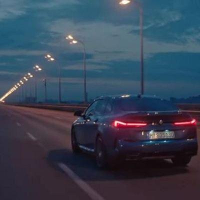 BMW сняла рекламу нового автомобиля в Киеве