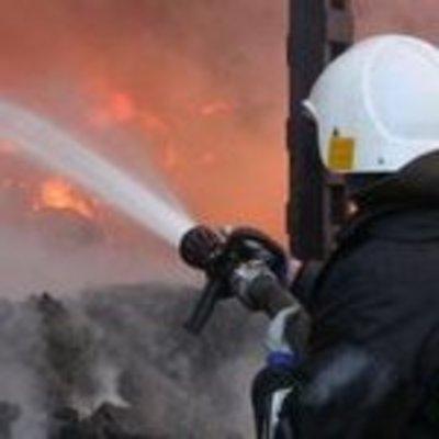 В Гидропарке в Днепровском районе Киева произошел пожар