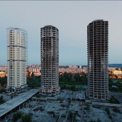 Нацгвардия упорно, но пока безуспешно ищет инвестора для достройки «Днепровских башен»